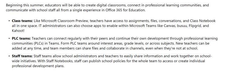 edu features